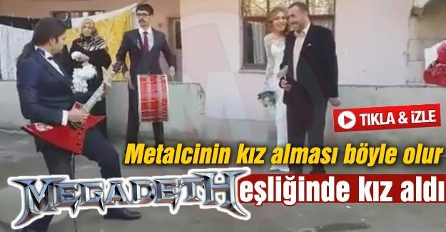MEGADETH EŞLİĞİNDE KIZ ALDI