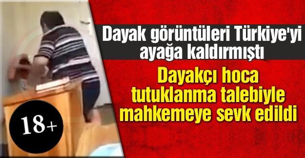 Dayakçı hoca tutuklanma talebiyle mahkemeye sevk edildi