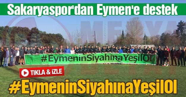 Sakaryaspor'dan Eymen'e destek