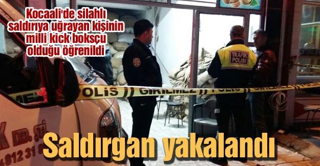 Milli kick boksçu silahlı saldırıya uğradı