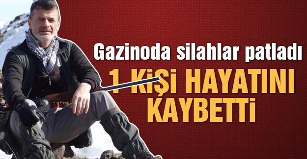 Gazinoda silahlar patladı: 1 ölü