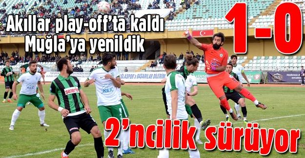 Sakaryaspor Muğla'da kayıp! 1-0