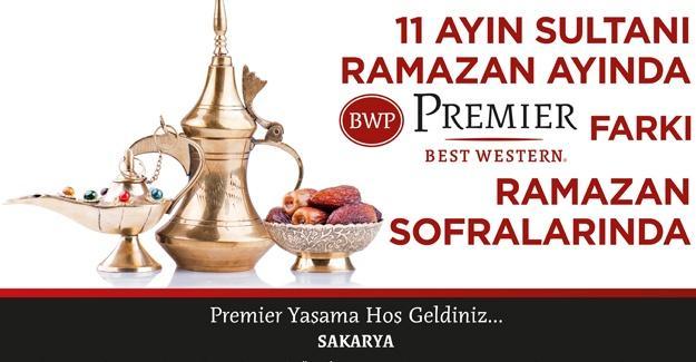 BW Premier Otelde Ramazan hazırlığı