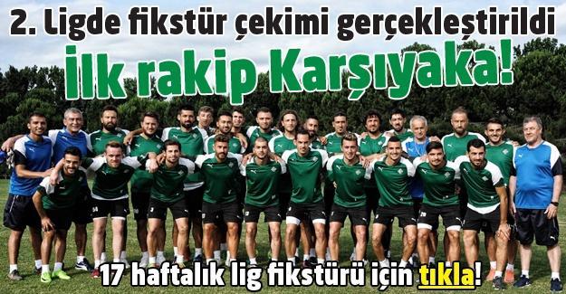 Sakaryaspor'un ilk rakibi Karşıyaka