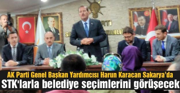 STK'larla belediye seçimlerini görüştü