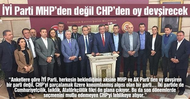 İYİ Parti MHP'den değil CHP'den oy devşirecek