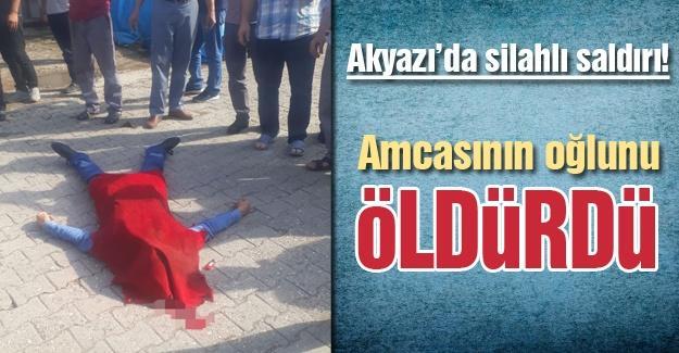 Akyazı'da silahlı saldırı! 1 ölü