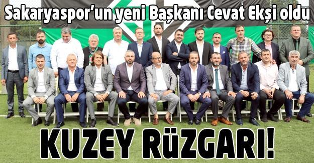 Sakaryaspor'un yeni Başkanı Cevat Ekşi!