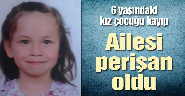 6 yaşındaki kız çocuğu kayıp