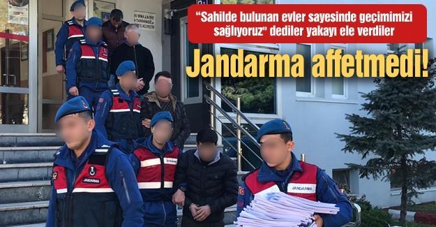 Jandarma affetmedi!