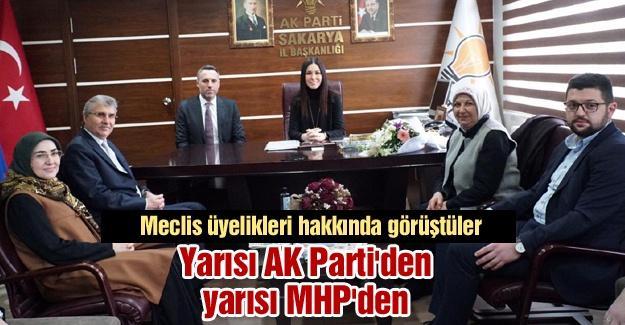 Yarısı AK Parti'den yarısı MHP'den