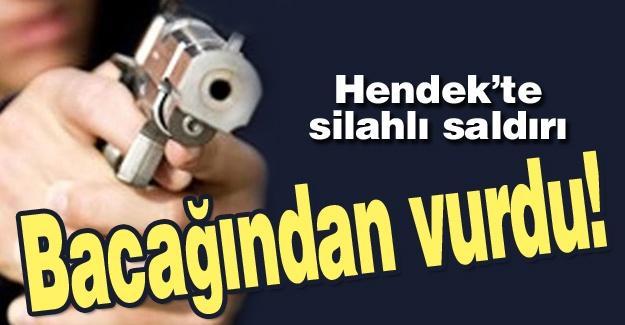 Hendek'te silahlı saldırı!