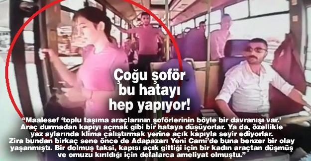 Çoğu şoför bu hatayı hep yapıyor!…