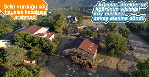 Selin vurduğu köy hayalet kasabaya döndü