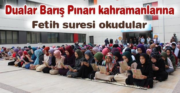 Dualar Barış Pınarı kahramanlarına!