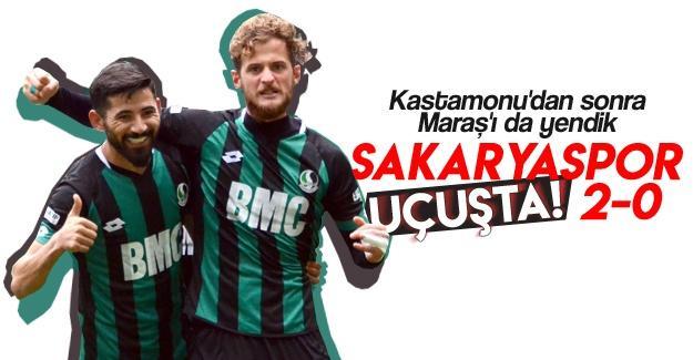 Sakaryaspor uçuşta! 2-0