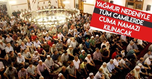 Cuma Namazı tüm camilerde kılınacak!