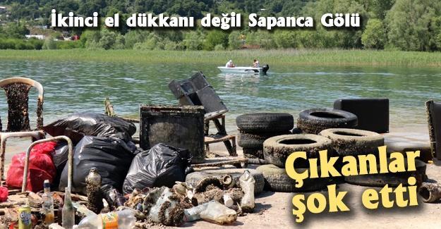 İkinci el dükkanı değil Sapanca Gölü!