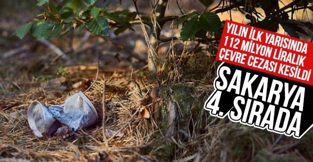 Yılın ilk yarısında 112 milyon liralık çevre cezası kesildi