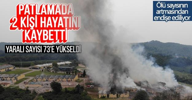 Patlamada 2 kişi hayatını kaybetti