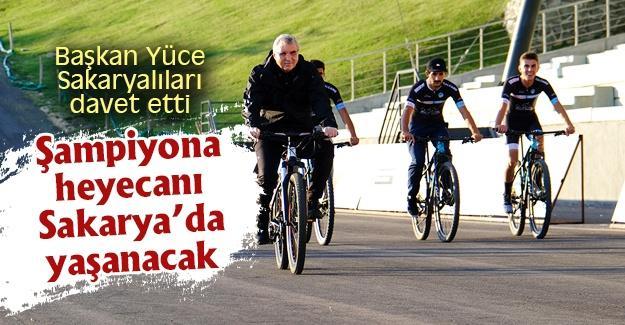 Şampiyona heyecanı Sakarya'da yaşanacak!
