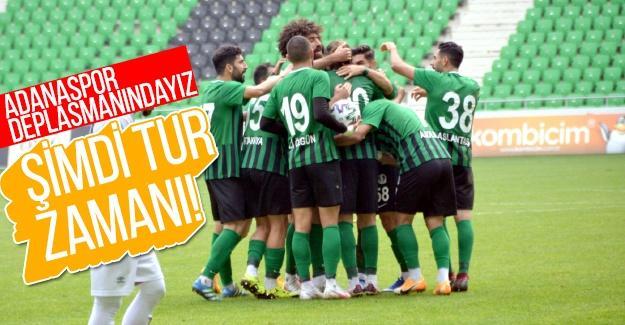 Adanaspor deplasmanındayız!