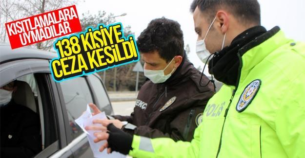 Sakarya'da kısıtlamalara uymayanlara ceza yağdı