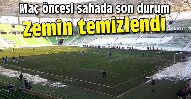 Atatürk Stadı maça hazır!