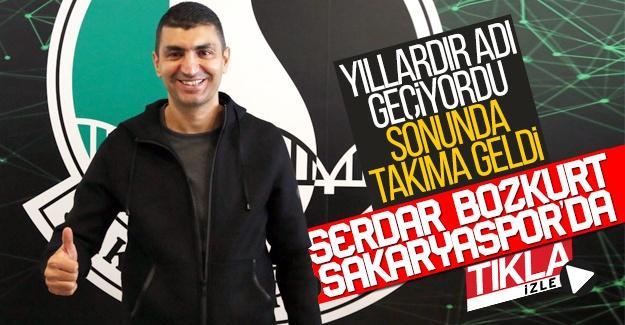 Serdar Bozkurt Sakaryaspor'da