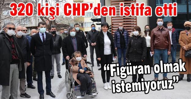 320 kişi CHP'den istifa etti