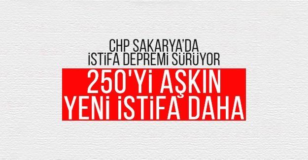 CHP Sakarya'da istifa depremi sürüyor