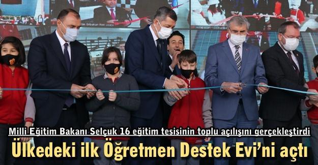 Ülkedeki ilk Öğretmen Destek Evi açıldı