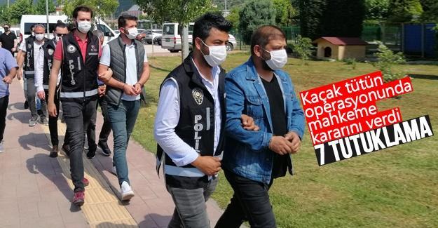 Kaçak tütün operasyonunda mahkeme kararını verdi