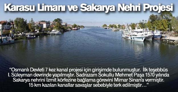 Karasu Limanı ve Sakarya Nehri Projesi