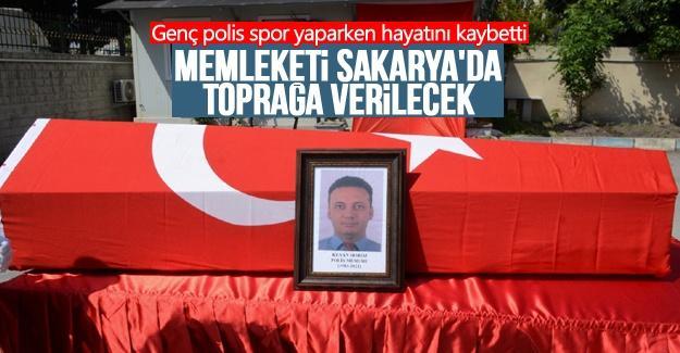 Genç polis spor yaparken hayatını kaybetti
