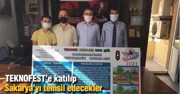 TEKNOFEST'e katılıp Sakarya'yı temsil edecekler