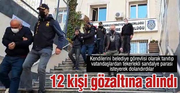 Kendilerini belediye görevlisi olarak tanıtıp vatandaşları dolandırdılar!