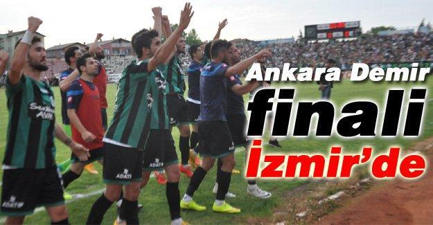 Sakaryaspor'un oynayacağı play-off final maçı yeri belli oldu