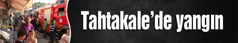 Tahtakale'de yangın