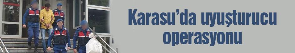 Karasu'da uyuşturucu operasyonu