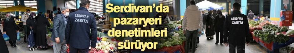 Serdivan'da pazaryeri denetimleri sürüyor