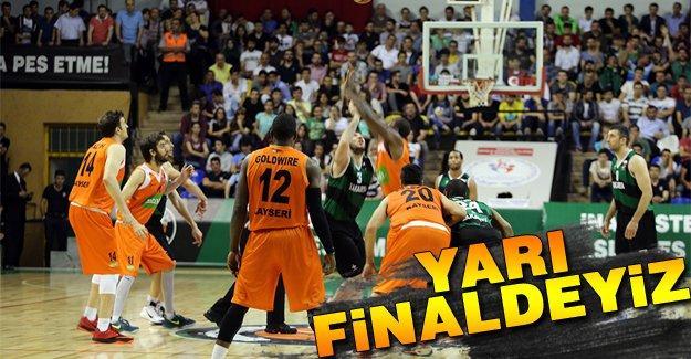 Büyükşehir'in yarı finaldeki rakibi Yeşilgiresun Belediye