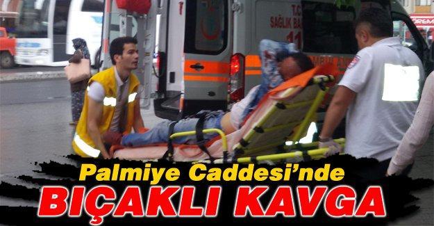İki grubun kavgasında kan döküldü: 1 yaralı