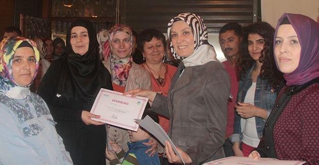 Kadın Gelişim Akademisi sona erdi