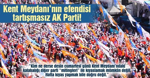 Kent Meydanı'nın efendisi tartışmasız AK Parti!…
