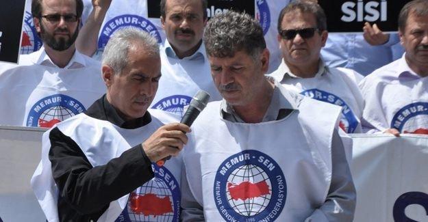 Memur-Sen Mursi'nin idam kararına tepki gösterdi