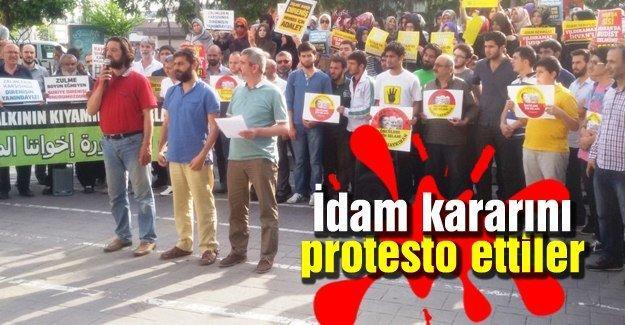 Sakarya'dan Muhammed Mursi'ye destek