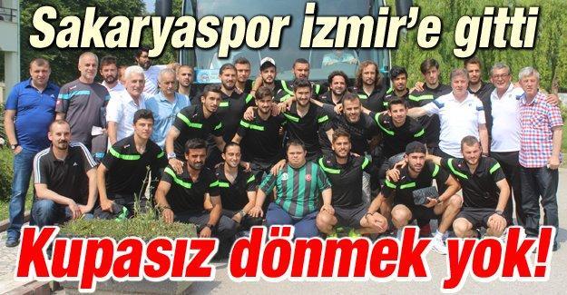Sakaryaspor İzmir'de!