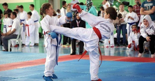 Sapanca Belediyesi Karate Şampiyonası yapıldı