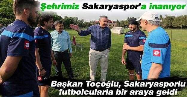 Şehrimiz Sakaryaspor'a inanıyor